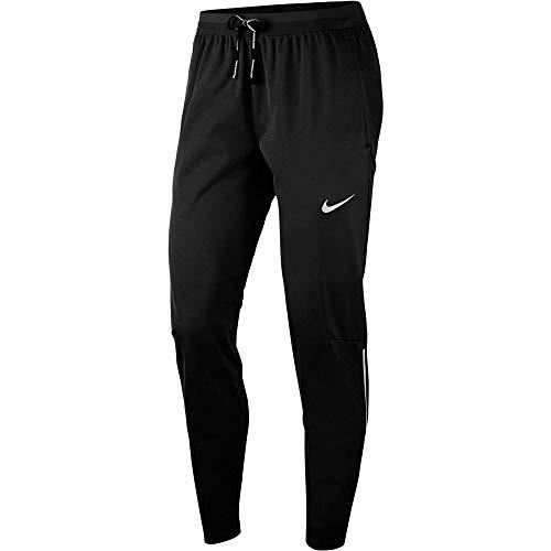 Nike Herren M NK Shield PHNM Elite Pant Hose, Schwarz/Hochglanz-Silber, L