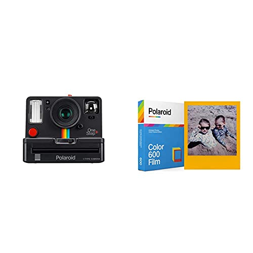 Polaroid Originals - 9010 - OneStep + Cámara instantánea Color Negro + Polaroid 6015
