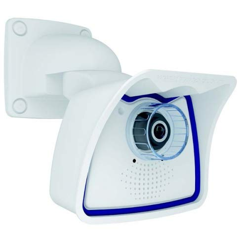 Mobotix M25 IP Sicherheitskamera innen und außen Gehäuse weiß - Überwachungskamera (IP Sicherheit, Innen- und Außenbereich, Box, Weiß, Wand, IP66)