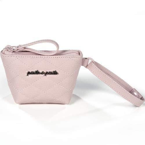 Pasito a pasito 73769 - Funda chupete acolchada Inés, color rosa
