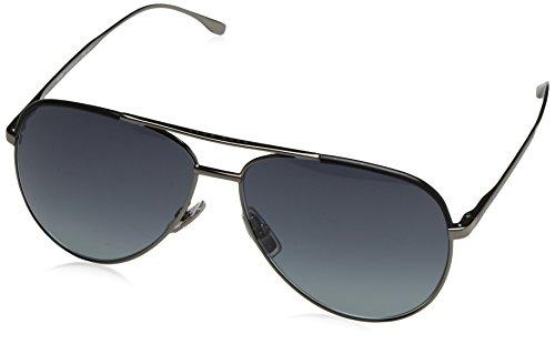 Hugo Boss Herren BOSS 0782/S HD AGL 60 Sonnenbrille, Schwarz (Gunmetal Black/Grey Sf)