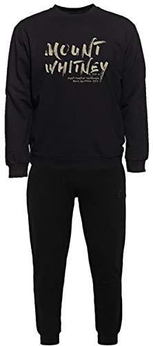 Ahorn Sportswear grote maten joggingpak Mount Whitney groen beige zwart
