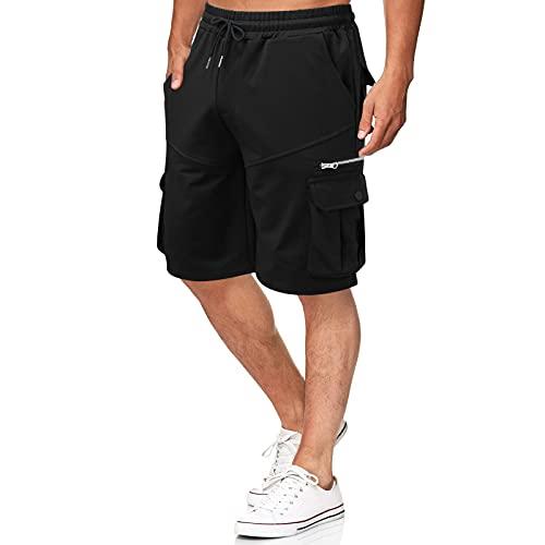 Herren Shorts Cargo Shorts Outdoor Sommer Freizeit Kurze Hose Baumwolle Arbeitsshorts Vintage Cargo Shorts Kurze Hose Baumwolle Bermuda Shorts Sommer Herren Shorts Sporthose für Freizeit Sport riou9