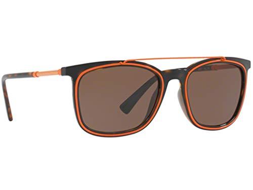 Versace VE4335 zonnebril Havana bruin met bruine glazen 10873 VE 4335