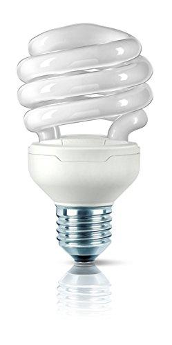 Philips Espiral 871016321250010 - Lámpara (20 W, 100 W, Espiral, E27, Blanco cálido, 8000 h)