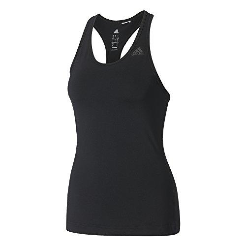 Adidas D2m Tank Solid, Maglietta senza maniche Donna, nero, XS