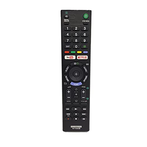 HUYANJUN, RMT-TX300E Reemplazo de Control Remoto para Sony LED LCD TV KDL-40WE663 KDL-40WE665 KDL-43WE754 KDL-43WE755 KDL-49WE660 KDL-49WE663 KDL-49WE665 KDL-49WE750 KDL-49WE755