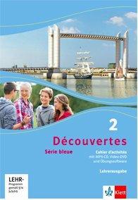 Découvertes serie bleue Sesam 2, Lehrerausgabe zum Cahier d'activités mit MP3-CD, Video-DVD und Übungssoftware (Band 2) 978-3-12-6221276