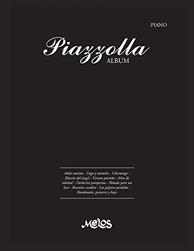 Piazzolla Album: partitutas para piano