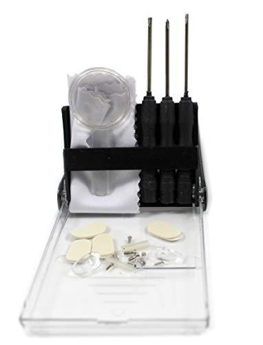 Spectacle Bril Zonnebril Oogglas Schroeven Noten Pads Optische Reparatie Tool Kit