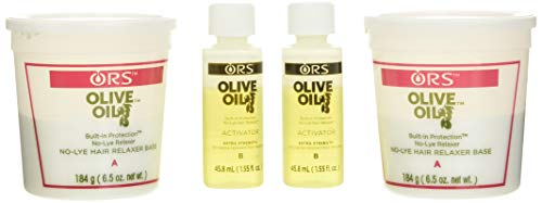 Olive Oil No-Lye Relaxer System - Extra Strength - Professional