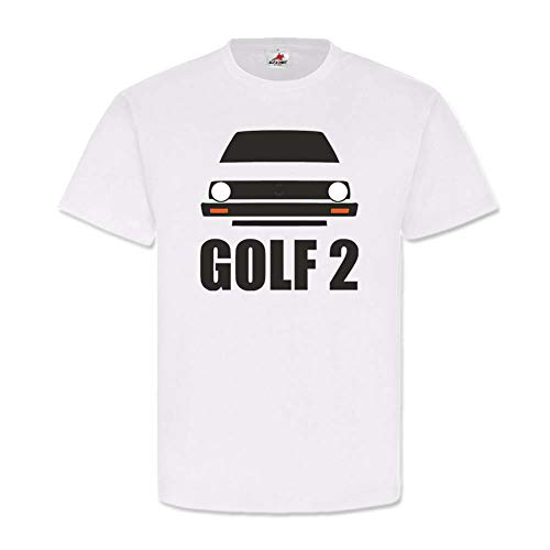 Copytec Golf MK 2 MK2 Carro GTI GTD TD gasolina BW coche Volks-Oldtimer H #24494 Blanco XXXXXL