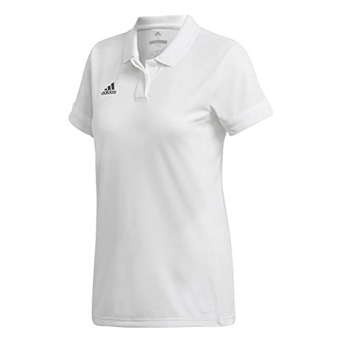 adidas Damen T19 W Polo Shirt, White, S
