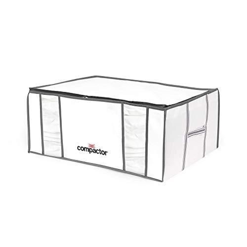 Compactor Lot de 5 housses de rangement sous vide Life, Taille XXL, 210L , Blanc et gris, 65 x 50 x H.27 cm, RAN8821