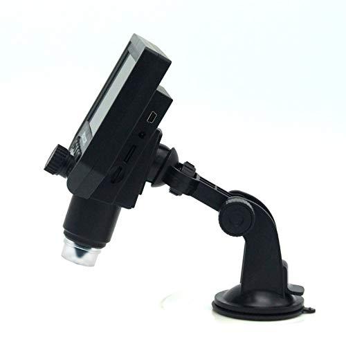 Yhtech Portátil 600x 4.3 Microscopio Digital LCD Microscopios de Video HD de Video HD de la Lupa de la cámara de reparación PCB (Color : G600 Sucker)