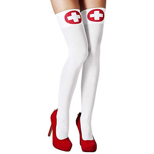Boland 10117876 Strümpfe Krankenschwester, Damen, One Size