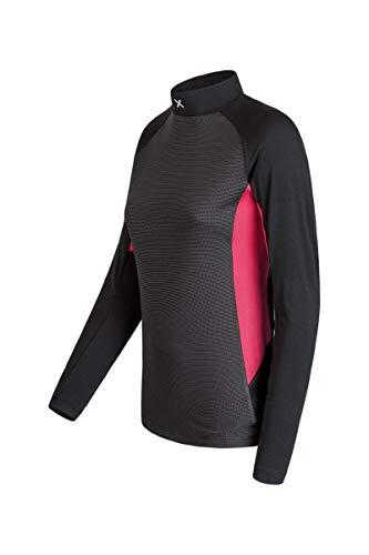 Montura Next to Skin Lupetto - Camiseta para Mujer, Color Negro