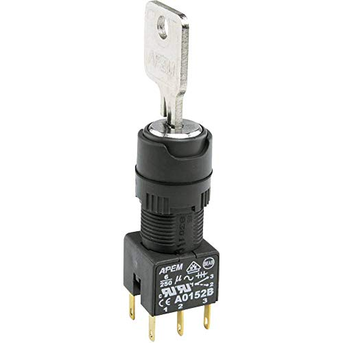 APEM LED-Signalleuchte Rot 230 V//AC QS101XXHR220