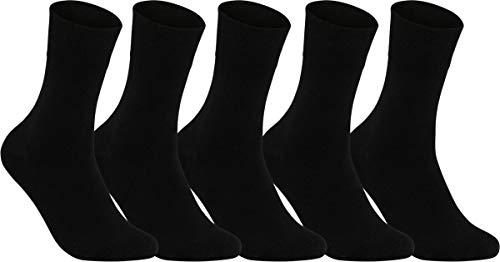 world wide sox | Socken & Strümpfe für Herren | Best Standard | 5 Paar | schwarz | 43-46