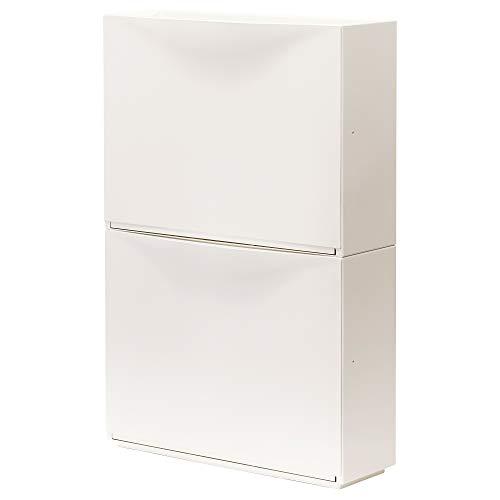 IKEA.. 003.973.07 Trones - Zapatero de Almacenamiento, Color Blanco