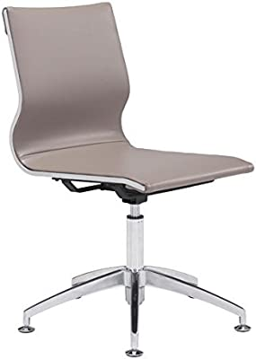 Zuo Glider Conference Chair, Taupe