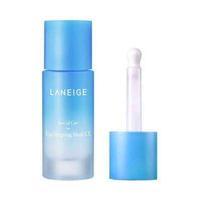 Laneige Eye Sleeping Mask Ex/Eye Care Cooling Mask 25ml / Removing Dark Circles, Puffiness, Wrinkles, Eye Bags