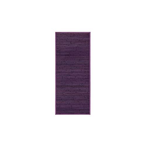 HOGAR Y MAS Bamboe tapijt Natural Purple 75 x 175