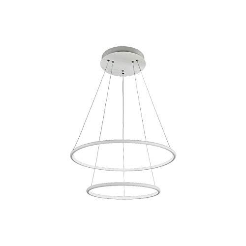 ORION Weiß 53W Deckenleuchte Deckenlampe Hängeleuchte Hängelampe Pendelleuchte