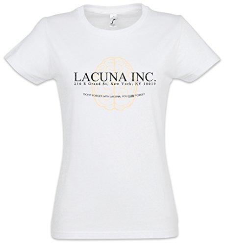 Urban Backwoods Lacuna INC. Women Donna T-Shirt Bianco Taglia M