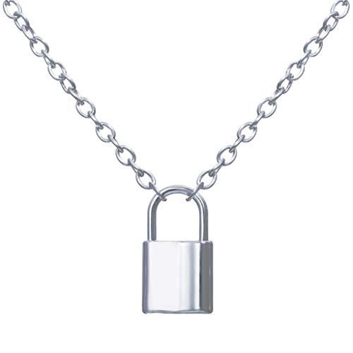 Metalen hanger slot ketting creatieve wild persoonlijkheid trend legering sleutelbeen keten