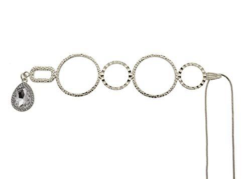 Karen Bling, Neckglasses Pendant, Reading Glasses, Convenient, Superior Chain, Discreet, Easy Care - 2.00 - Silver
