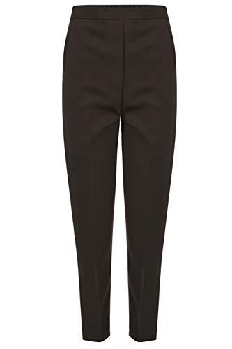 ZEE Fashion Damen Hose Gr. 46 DE (64 cm Bein), braun