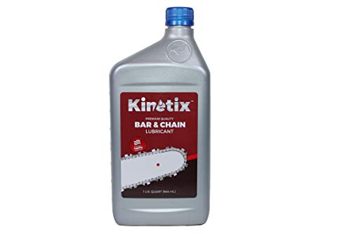 Kinetix Lubricants All-Season Bar and Chain Oil (1 Quart)