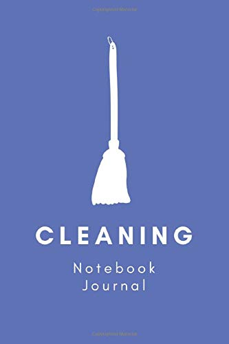 Cleaning Notebook Journal: Classic Ruled Notebook (6x9) 150 pages (Rainbow Series)
