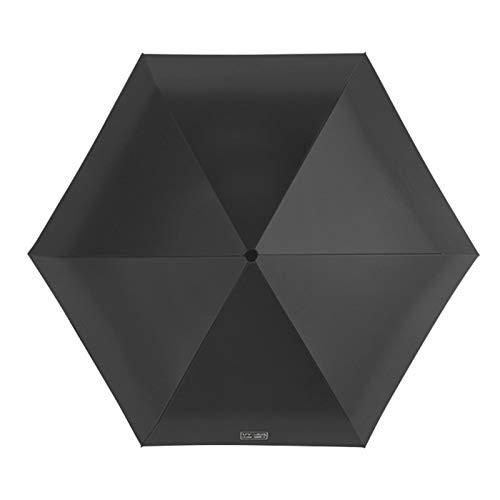 MOVKZACV Mini paraguas de viaje ligero pequeño compacto mujeres paraguas para sol lluvia, Ant i U V tamaño bolsillo paraguas regalo moda doble uso