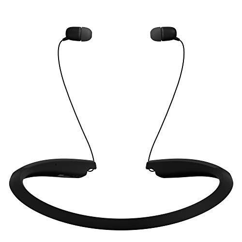 LG Tone Flex HBS-XL7 Bluetooth Wireless Stereo Neckband Earbuds with 32-Bit HiFi DAC Tune by Meridian Audio, Black