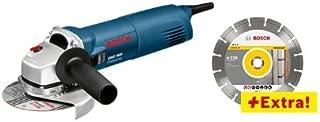 Bosch GWS 1400 + 0 601 824 900 - Amoladora angular (102 mm, 298 mm) Azul