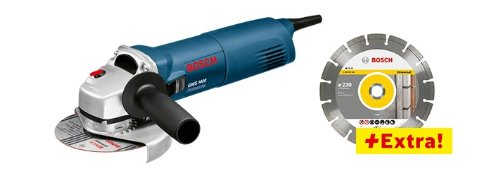 Bosch 601824900 GWS 1400 haakse slijper, diameter 125 mm, 298 x 102 mm, 1,4 kW
