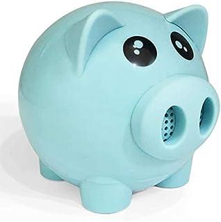 KJRJLY Cute Pig Bluetooth Speaker Wireless Mini Multi-Function Amplifier Portable Audio Festival Gift Small Gift (Color : Blue)