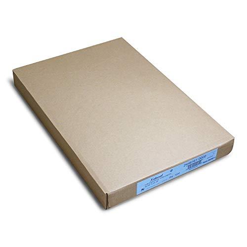 Paterson Paper 16' x 24' Full Size Unbleached Quilon Coated Reusable Baking Parchment Paper Sheets Bun/Sheet Pan Liners - 1000/Case - 425F - Non-Stick/Grease-Proof