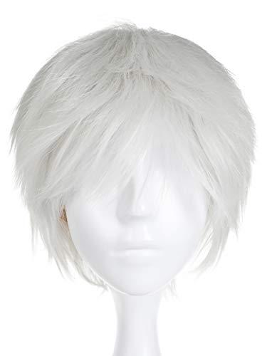 CoolChange Parrucca di Norman di The Promised Neverland, Grigio, Corto