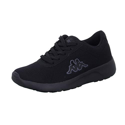Kappa Damen Tunes OC W Sneaker, 1111 Black, 40 EU