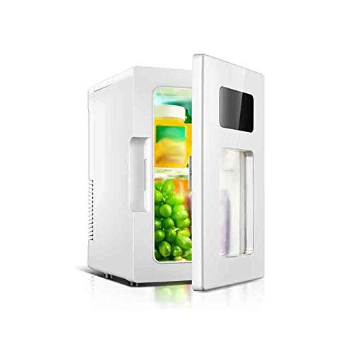 QTCD Refrigerador congelador portátil de 10L / 65W / 5V / Calentador de Coche y Caja de refrigeración Caliente/fría/Mini Nevera de Coche/Adecuado para Nevera pequeña