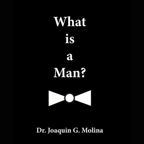 What is a Man? audiobook cover art