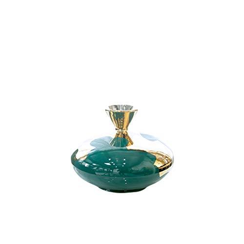 Vaas in Europese stijl, decoratie voor woonkamers, keramiek, bloemenarrangement, droogbloem, TV-kast, decoratie, creatieve vaas.