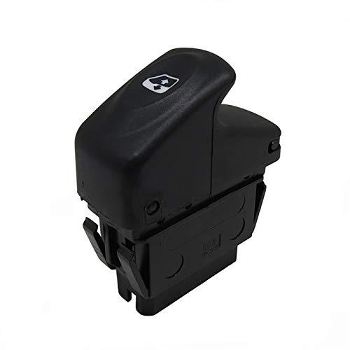 GLLXPZ Interruptor de La Botonera Elevalunas, para Renault Clio II Megane Kangoo 1995-2014, Electrónico Panel Interruptor de Botón
