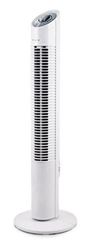 Emerio TFN-110154.1 Turm Ventilator, 3 Geschwindigkeiten, Oszilation, 30 W, 230 V, Weiß, 73, 5cm