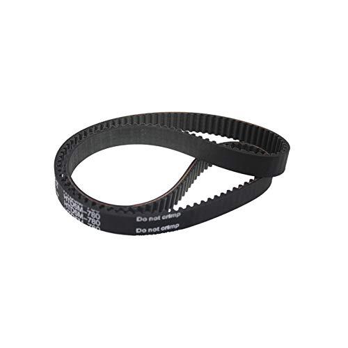 Zyilei-Correas de distribución Cinturón de tiempo de HTD 5M, 5M-750 / 755/760/765/775/780/765 / 775/780 / 790mm Longitud de tono, ancho de cinturón de 15/20/25 mm, cinturones de transmisión de goma re