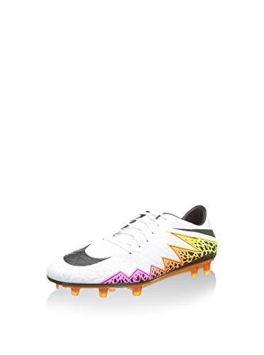 Nike Herren Hypervenom Phatal II FG Fußballschuhe, Blanco (Blanco (White/Black-Total Orange-Volt), 45 1/2 EU
