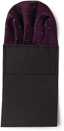 Udol Bow tie Formal Men Bow tie Suit Pocket Towel Chest Towel Wild Fashion Square Towel Handkerchief Towel Straight Tide Adjustable pre-Tied Bow tie